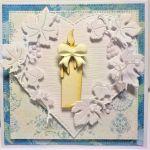 Pamiątka Chrztu świętego dla chłopca - przekładowa karta boczna