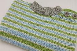 sweterek w paski