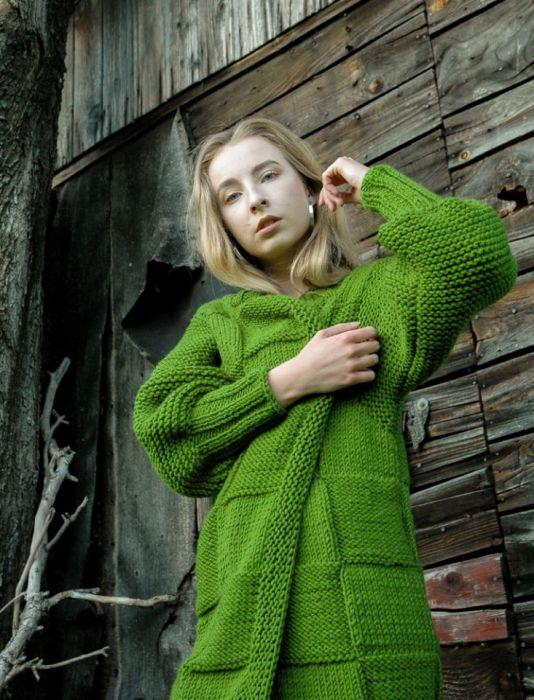 długi sweter/płaszcz