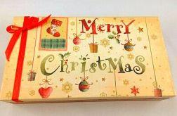 Pudełko świąteczne Merry Christmas
