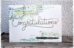 Kartka uniwersalna congratulations
