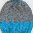 Knitting Colorful Hats-  Deep Turquoise