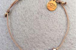 Chocolate Crystal bransoletka z kryształkami