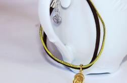 Złoto & brąz - branosletka