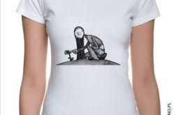 Kwiat - T-shirt damski (kolory)