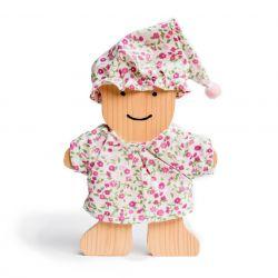 Miś drewniany w piżamce