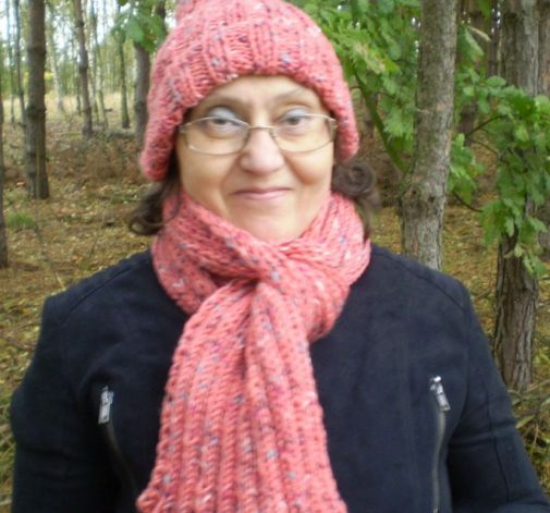 Zestaw  zimowy szalik i czapka