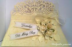 Kartka kopertówka na ślub