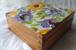szkatułka z anemonami