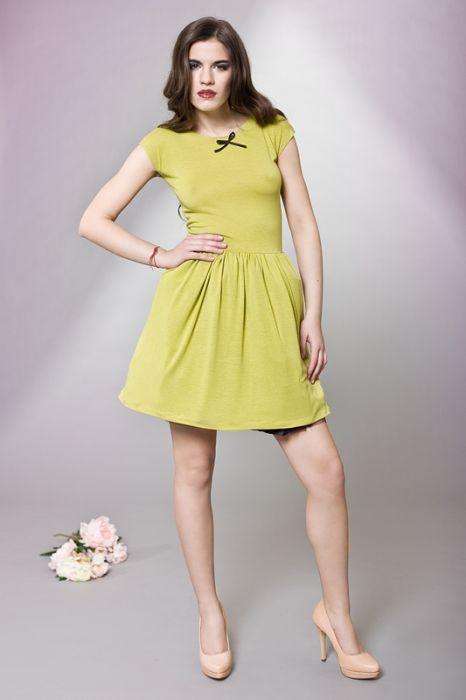Dziewczęca sukienka z kokardką