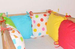 Modułowy ochraniacz do łóżeczka kolor