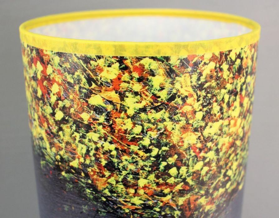 Lampa żÓŁTODRZEW, abażur + podstawa - Wysoka jakość materiałów