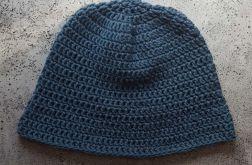 Letni bawełniany kapelusz jeans/denim