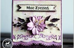 Urodzinowa/imieninowa z kwiatem #7
