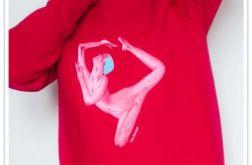 Ręcznie malowana bluza Sensual