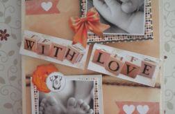 Kartka dla dziecka - Z miłością