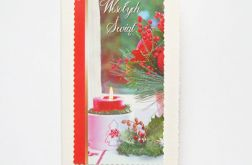 Kartka świąteczna ze świecą 4