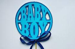 Topper na ciasto BABY BOY