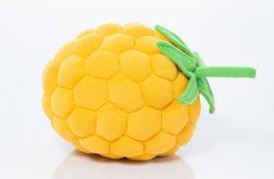 Poduszka malinka zółta