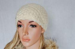 Ecri szydełkowa ciepła czapka