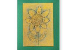 Kwiat 9 - rysunek dekoracyjny do pokoju