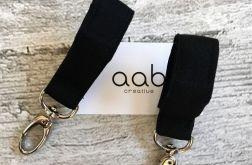 AAB Czarne zaczepy do wózka (692)