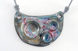 Naszyjnik ceramiczny, Wisior ceramiczny