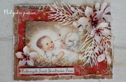 Kartka świąteczna z Dzieciątkiem