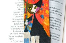 Zakładka - Koty, wzór graficzny