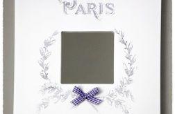 Paryskie lusterko shabby chic