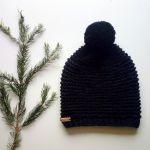ciepła czapka merino