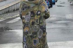 Cardigan freeform crochet Dolce Vita