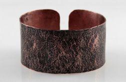 Kamień - miedziana bransoletka 200207-01
