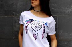 "t-shirt  ""ŁAPACZ SNÓW"" KOLOR"