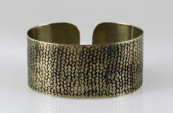 Mosiężna bransoleta - siatka 150215-04