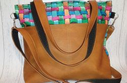Torebka damska torba shopper 3D kolorowa