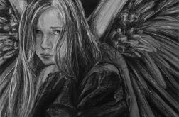 Anioł rysunek