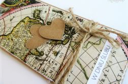 Kartka dla podróżników z okazji Ślubu
