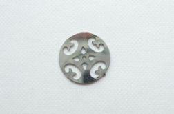 Zawieszka do bransoletki - moneta ażurowa
