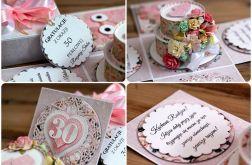 Exploding box na rocznicę ślubu - wzór