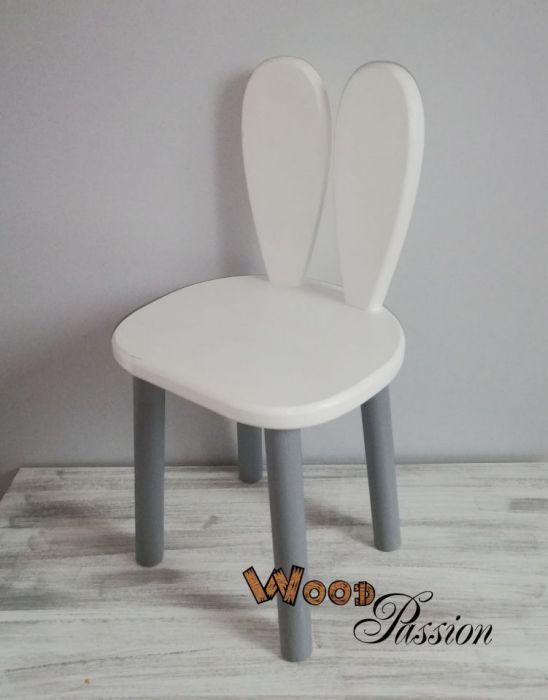 Krzesełko królik, z uszami królika