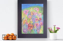 Rysunek kwiaty, obrazek z kwiatami n11