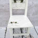krzesełko z oparciem kotki