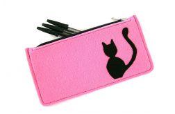 Pink pencil-case