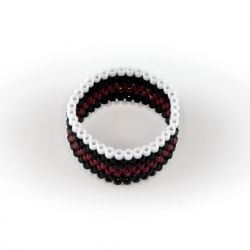 pierścionek różnokolorowy