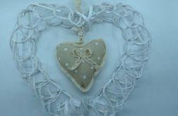 Wianek wiklinowy serce 45 cm