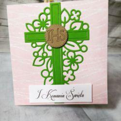 kartka z okazji I Komunii Świętej