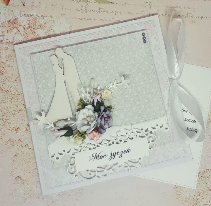 Karnet rocznica ślubu...ślub -