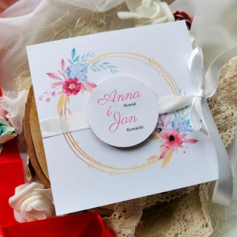 Zaproszenia ślubne okazjonalne na komunię chrzest urodziny
