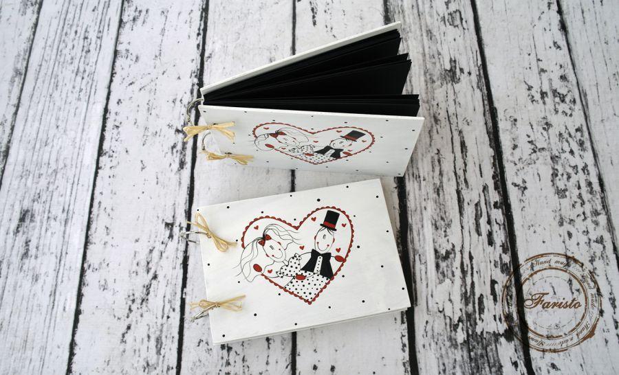 Album na zdjęcia mały ślubny